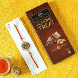 Rakhi with Cadbury Chocolate