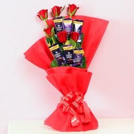 Rose Choco Bouquet