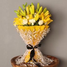 Gorgeous Mixed Flowers Bouquet